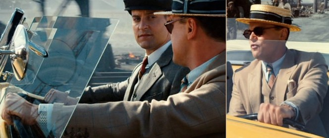 I bet Gatsby wishes he had a Bond-style ejector seat when Nick looks at him with that expression.
