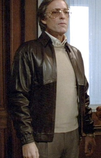 Richard Chamberlain as Jason Bourne in the 1988 TV mini-series, The Bourne Identity.