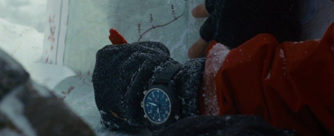 Nothing like a $12,000 watch to battle extreme cold.