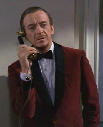 David Niven as Sir Charles Lytton in The Pink Panther (1963)