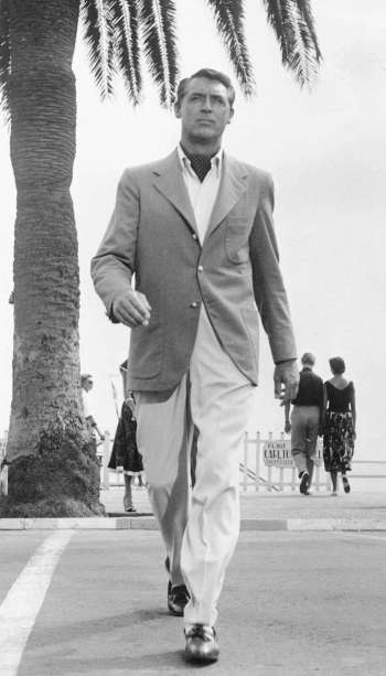 Cary Grant on location in the French Riviera for To Catch a Thief (1955)