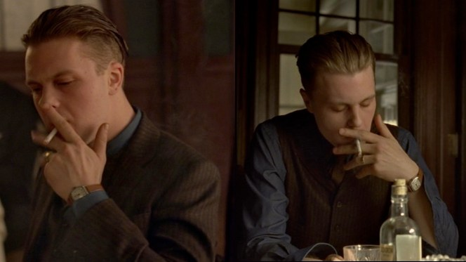 """Jimmy's watch is best seen during his times of tobacco-assisted reflection in """"A Dangerous Maid"""" (2.03)."""