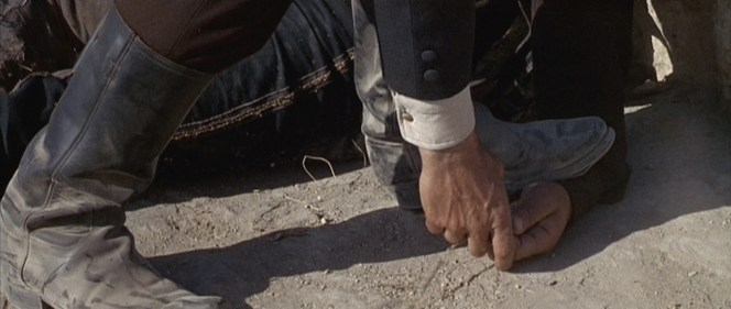 Mortimer's corpse-steppin' boots.