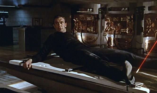 Bond came very close to losing his thunderballs!