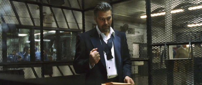 Danny's dinner suit from the opening scene is clearly different than the one he later wears in Vegas.