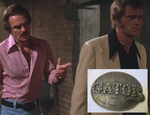 I wonder just what one would have to do in their life to get a belt buckle with their nickname on it.