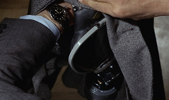 I have a feeling that Bond's Rolex will tend to be more accurate than whatever Commie mass-produced clock that clerk is talking about.