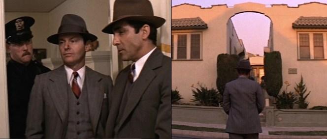 The smug uniformed officer behind Gittes is a real gem.