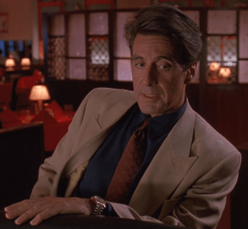 Al Pacino as Ricky Roma in Glengarry Glen Ross (1992)