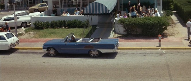 Kojak would be proud of that parking spot.