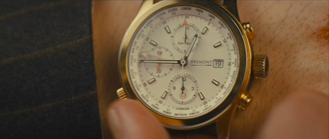 ...thus leaving no doubt as to the maker of Kingsman agents' beautiful timepieces.