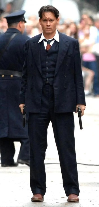 Johnny Depp as John Dillinger in Public Enemies (2009)