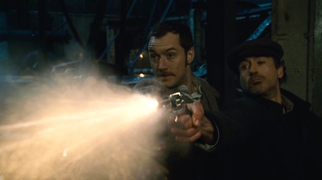 "Watson: ""What was that about saving bullets?"""