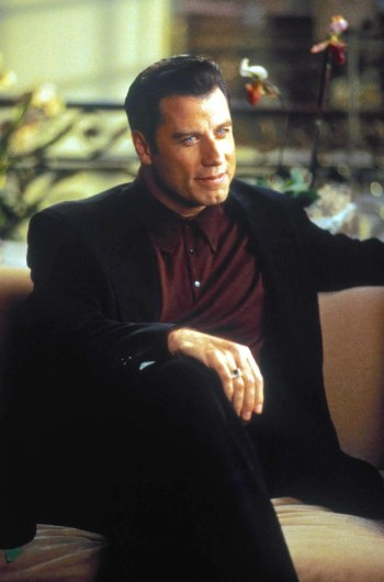 John Travolta as Chili Palmer in Get Shorty (1995)