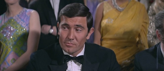 Had Lazenby mastered his own take on the Bond smirk? You be the judge.