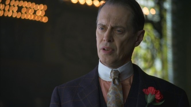 """Belle Femme"" (Episode 1.09): Nucky tries to make sense of the Commodore's ramblings."