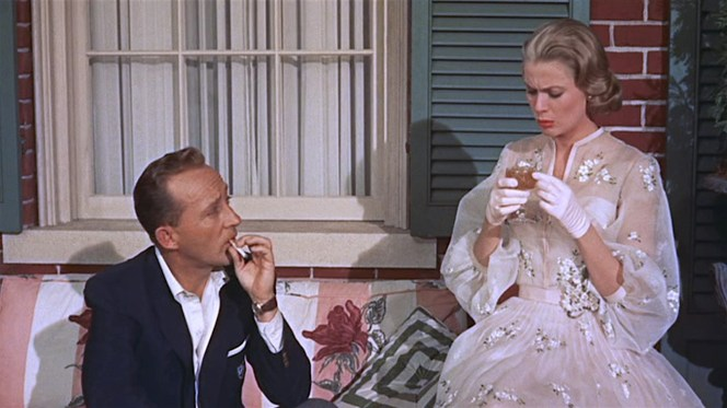 The 1950s may have been the high point of the Stinger's popularity, appearing not only in High Society (1956) but also In a Lonely Place (1951), Patricia Highsmith's romance novel The Price of Salt (1952), Ian Fleming's 007 novel Diamonds are Forever (1956), and Cary Grant's beleaguered character in Kiss Them for Me (1957)... to name a few.