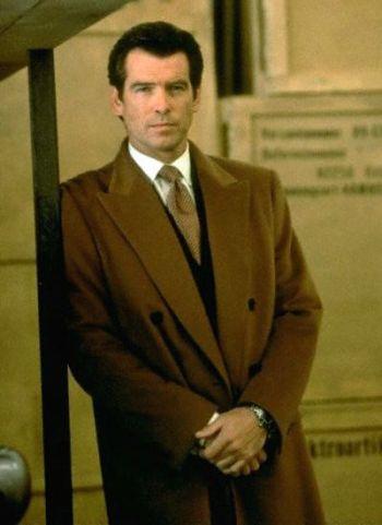 Pierce Brosnan as James Bond in Tomorrow Never Dies (1997)