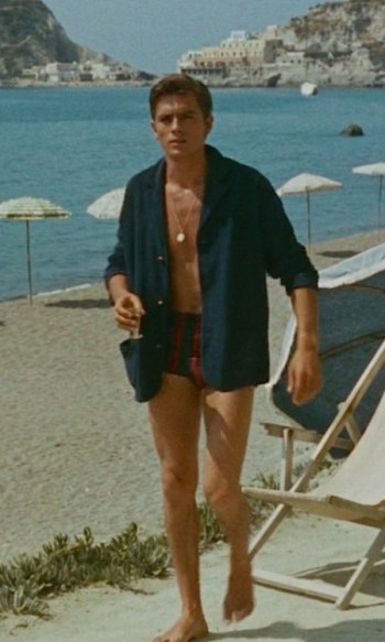 Alain Delon as Tom Ripley in Purple Noon (1960)