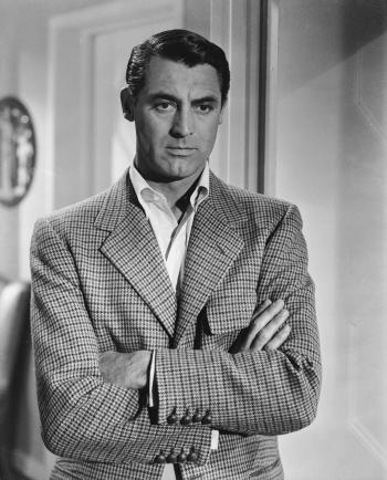 Cary Grant as T.R. Devlin in Notorious (1946)