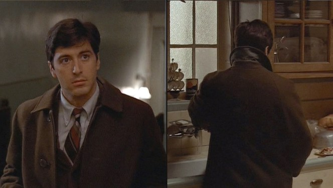 """When Michael Corleone went into the city that night it was with a depressed spirit,"" wrote Mario Puzo at the start of Chapter 9 of The Godfather. ""He felt that he was being enmeshed in the Family business against his will and he resented Sonny using him even to answer the phone."""