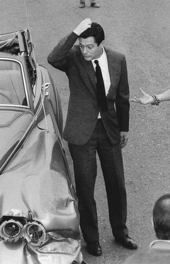 Marcello Mastroianni as Renzo with a 1963 Rolls-Royce in Yesterday, Today and Tomorrow (Ieri, oggi, domani) (1963)