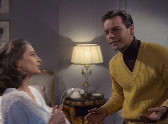 George Lytton not only borrows his uncle's layered style, he also hopes to get his hands on his mistress.