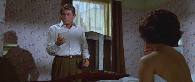 Gregory Peck makes the case for pleats.