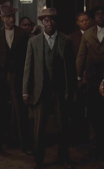 "Michael K. Williams as Albert ""Chalky"" White on Boardwalk Empire (Episode 4.12: ""Farewell Daddy Blues"")"