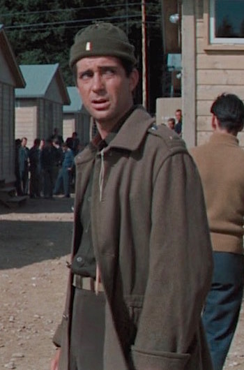 Jud Taylor as 2nd Lt. Goff in The Great Escape (1963)