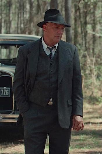 Kevin Costner as Frank Hamer in The Highwaymen (2019)