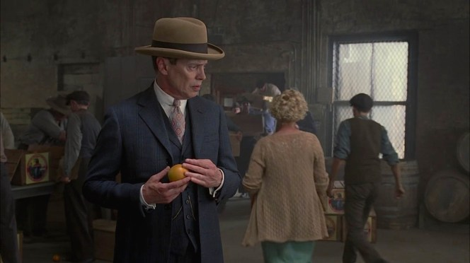 He's got rum and oranges... realistically, can Nucky carry out Sally's suggestion?