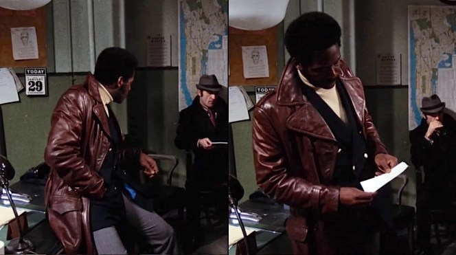 Shaft visits the two hoods he subdued at the No-Name Bar.