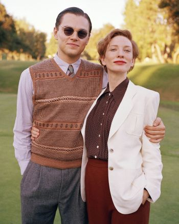 Leonardo DiCaprio and Cate Blanchett in The Aviator (2004). Photo by Andrew Cooper.