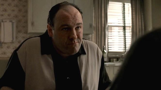 """James Gandolfini as Tony Soprano in """"Two Tonys"""" (Episode 5.01)"""