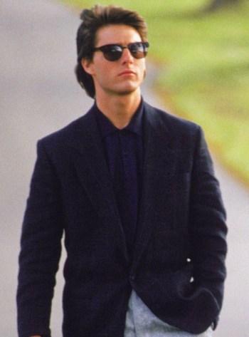 Tom Cruise as Charlie Babbitt in Rain Man (1988)