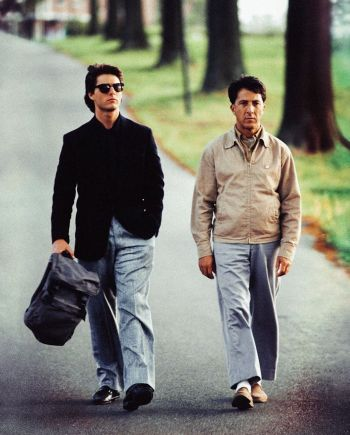 Tom Cruise and Dustin Hoffman in Rain Man (1988)