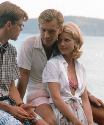 Jude Law with co-stars Matt Damon and Gwyneth Paltrow in The Talented Mr. Ripley (1999)