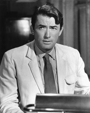Gregory Peck as Captain Keith Mallory in The Guns of Navarone (1961)