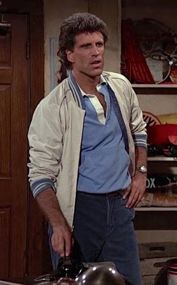 """Ted Danson as Sam Malone on Cheers (Episode 1.22: """"Showdown, Part 2"""")"""