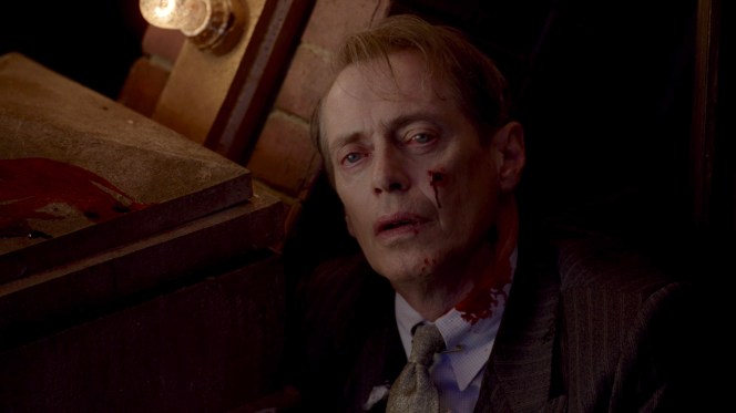 Nucky meets his tragic but inevitable end.