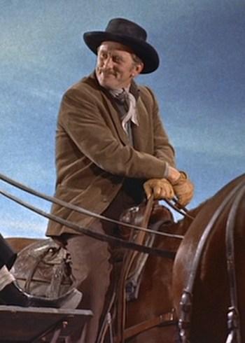 "Kirk Douglas as John ""Doc"" Holliday in Gunfight at the O.K. Corral (1957)"