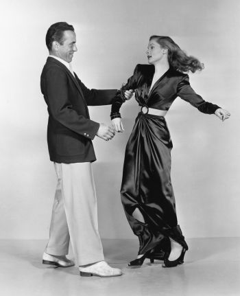 """""""Bogie and I went to Burt Six's studio for stills,"""" wrote Lauren Bacall in her memoir, By Myself, of the publicity shots taken following the last day of shooting. """"First Bogie alone, with me behind the camera making faces, joking, then the two of us. Bogie knew just how to do it."""""""