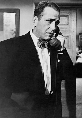 """Humphrey Bogart as Dixon """"Dix"""" Steele in In a Lonely Place (1950)"""