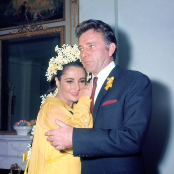 Elizabeth Taylor and Richard Burton, photographed by Everett during their 1964 wedding.