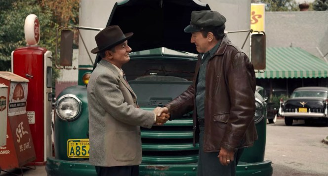 """Frank Sheeran's first handshake with Russell Bufalino made an impression on the young truck driver after the gangster's mechanical abilities got his """"horse"""" up and running again."""