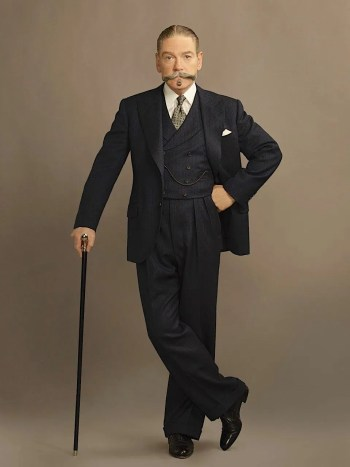 Kenneth Branagh as Hercule Poirot in Murder on the Orient Express (2017)