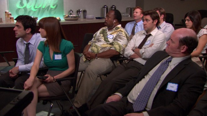 Stanley makes no effort to hide the fact that he spends the entirety of Nellie Bertram's opening session listening to his iPod.
