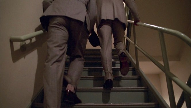 "Don and Roger continue their climb in ""Red in the Face"" (Episode 1.07)."
