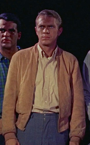 Steve McQueen as Steve Andrews in The Blob (1958)